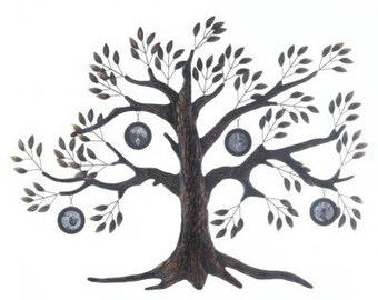 Family tree photo wall frame