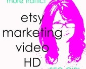 ETSY Shop Promotion Marketing Videos x 2 - HD Commercial for Products - Get More Etsy Traffic, Sales, Youtube Facebook Twitter