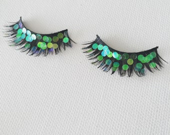 Mermaid False Eyelashes - Party - Festival