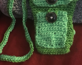 Cell phone purse.