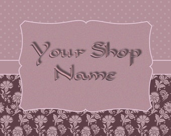 Premade Banner Set, Shop Banner Set, Shop Banner, Banner Template, Digital Graphics, Banner Design, Cover Photo,