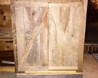 Reclaimed Wood Cabinet (In Progress)