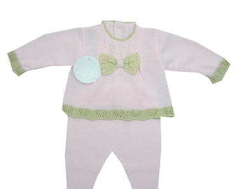 Knitted Set baby girl
