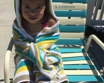 Toddler and Child's Hooded Towel