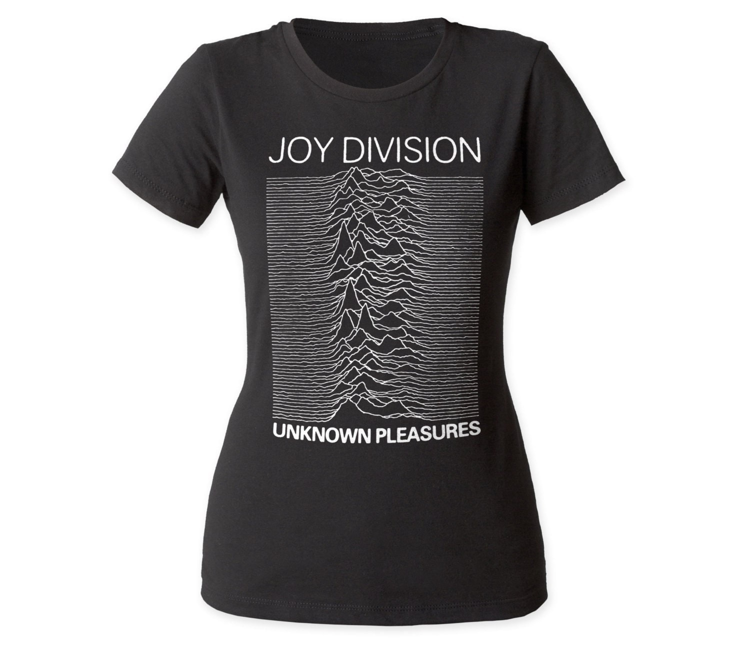 joy division unknown pleasures juniors t shirt jdwc01black. Black Bedroom Furniture Sets. Home Design Ideas
