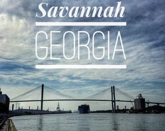 Savannah, Georgia Print