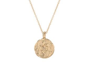 Star of David Pendant, Gold, 14 Karat, Star of David Necklace, David's Star Pendant, Little Magen Star Charm, Israeli Jewelry, HWN3C_Gold