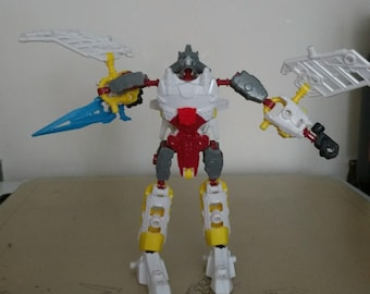 Transformer Construct-Bots Silverbot
