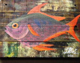 Fish Original Art