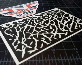 Elephant Print Stencil