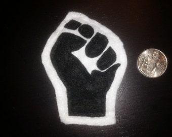 Fist Felt Pin