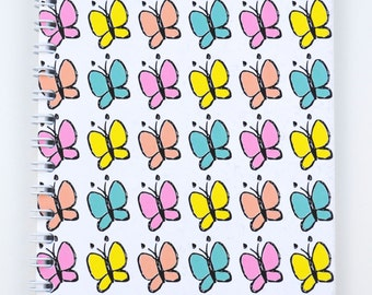 Butterfly • Notebooks • by Love Candy Designs
