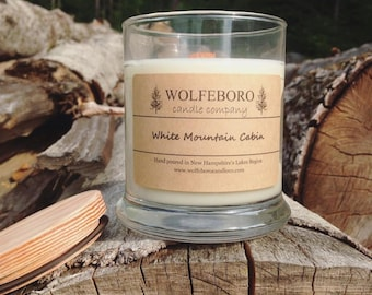 White Mountain Cabin Soy Candle