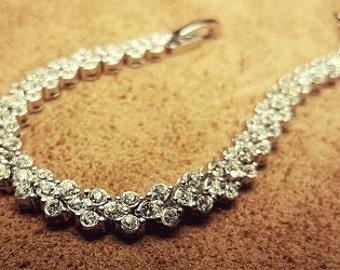 CZ Link Bracelet