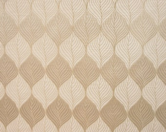 Drapery/Upholstery Jacquard Fabric Percy 444 Pearl By The Yard