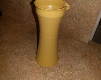 Vintage Tupperware Cruet Oil Vinegar Creamer Dressing GOLD (base only)