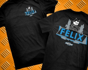 Felix Chevrolet Dealer Blue Logo 9076 T-Shirt