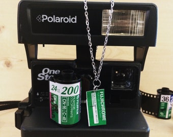 Fujifilm Film Necklace Jewelry Analog Photography