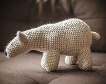 Polar bear amigurumi - Oso polar amigurumi - Urso polar amigurumi
