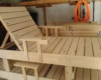 Handmade Chaise Lounge Chair