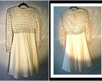 Vintage Gilded Gown