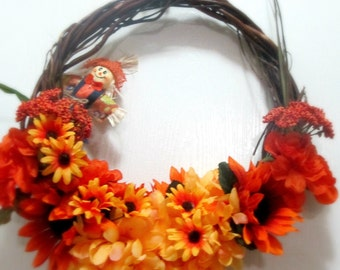 Small Scarecrow Wreath