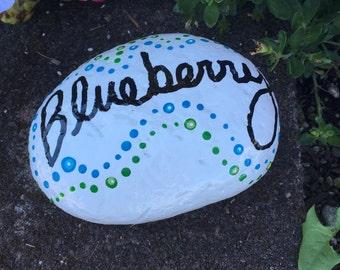 Blueberry garden rock