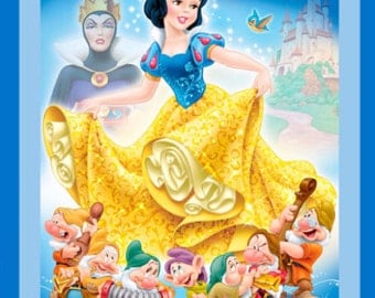 Disney's Snow White Fabric From Springs Creative
