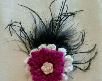 Crochet clip
