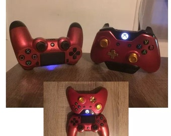 Hull red titanium ps4 xbox one joystick controller shell