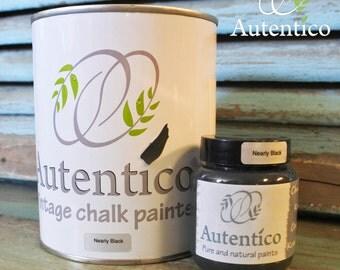 Autentico Paint - Nearly Black, 100ml