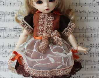 "LittleFee Cute Dress  ""Fall colors"""