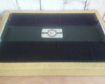 """18x12"""" Flat Pedal Board For Guitar Effects Pedals (Variety of Colours)"""