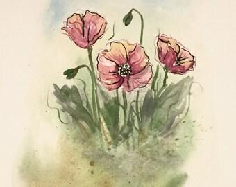 Happy Little Flowers
