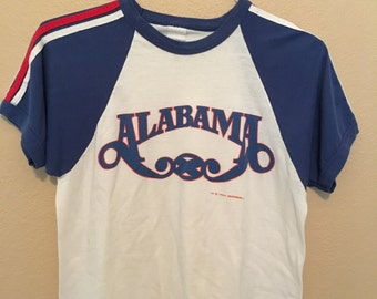 Vintage Alabama Country Western T Shirt 1980