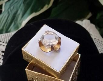 Statement ring vintage huge deco