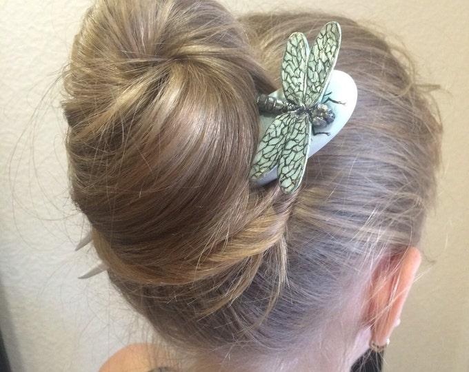 Hair accessories. Hair fork. Wooden hairpins. Wooden hair fork. Wood hair fork. Dragonfly.