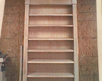 solid cherry bookcase