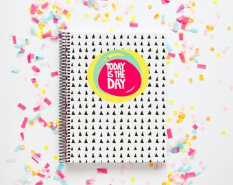 "Notebook ""Today is the day"""