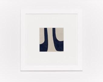 Movement in Blue Original Painting
