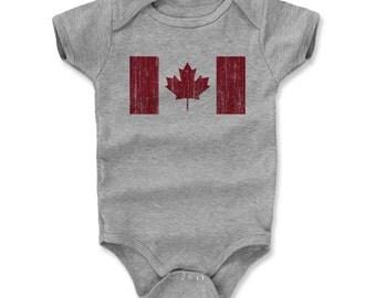 Canada Flag R Flag Onesie (am)