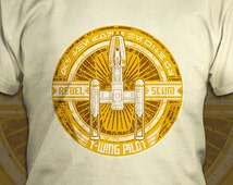 Rebel Scum: Y-Wing Pilot - Star Wars T-Shirt - Men's / Unisex & Women's Fit
