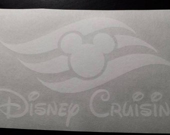 Disney Cruising Vinyl Decal