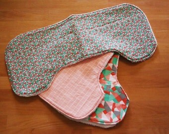 Contoured Baby Burp Cloth