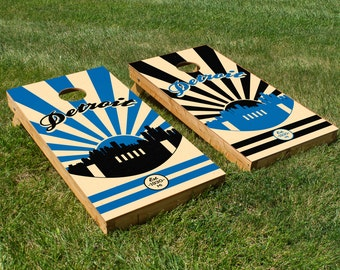 Detroit Lions Cornhole Board Set