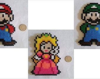 Mario Themed Perler Beads