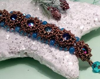 Azuro Bracelet-Daisy bubbles bracelet Pattern Fusco