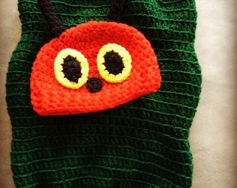 Very Hungry Caterpillar Cocoon and Hat Set