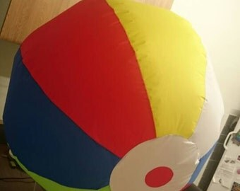 2 x 3ft inflatable beachball decorations made to order