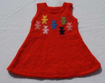 Dress/tunic, size 92/98, about 2-3 years